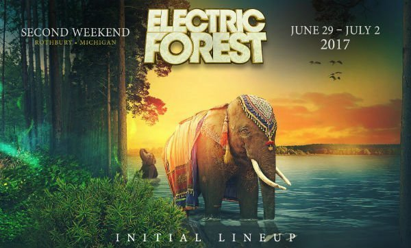 image for event Electric Forest 2017 (Second Weekend)