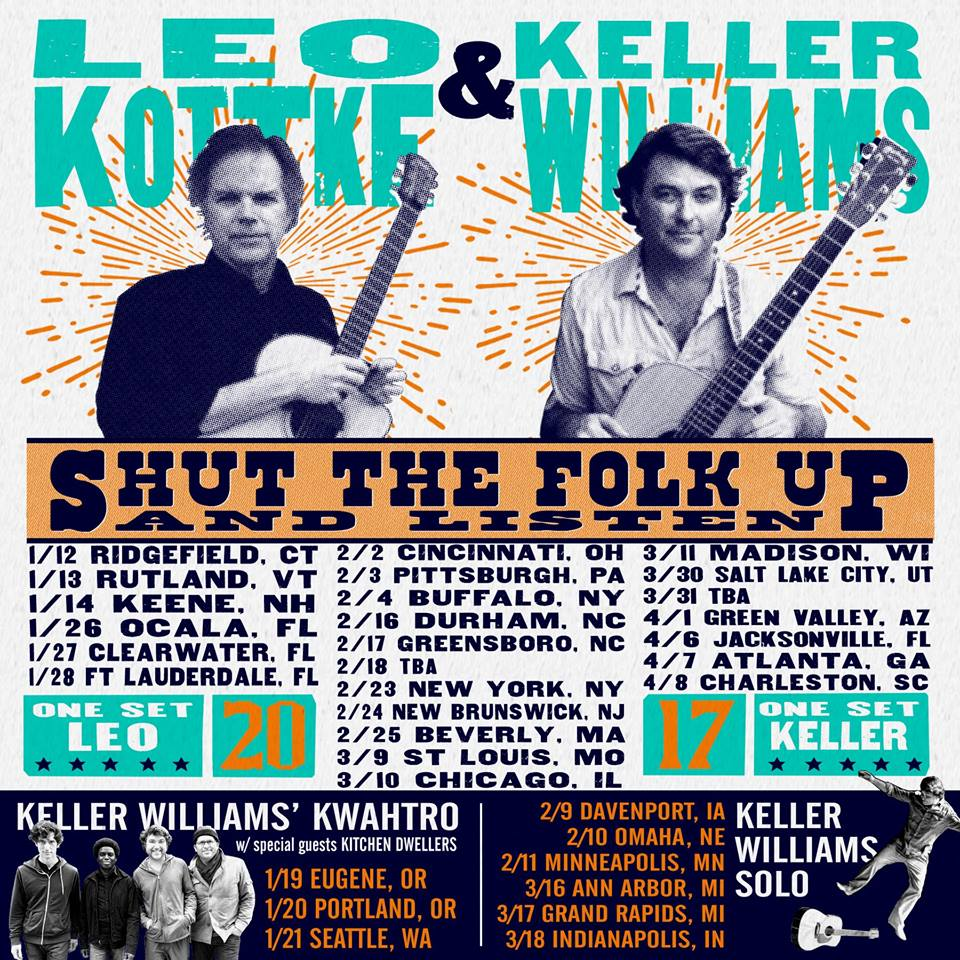 image for event Keller Williams and Leo Kottke