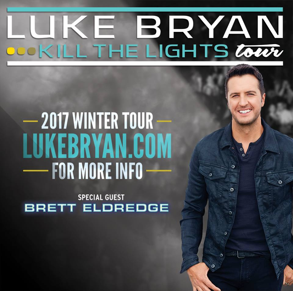 image for event Luke Bryan, Brett Eldredge and Brett Young