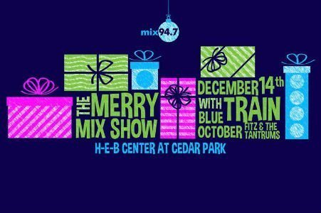 image for event Mix 94.7 The Merry Mix Show