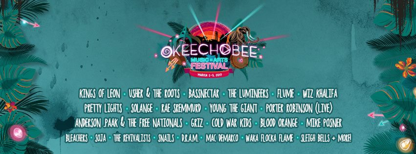 image for event Okeechobee Music & Arts Festival in Okeechobee, FL on Mar 2-5, 2017