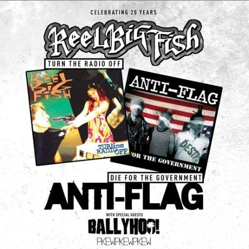 image for event Anti-Flag