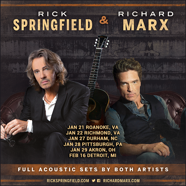 image for event Rick Springfield and Richard Marx