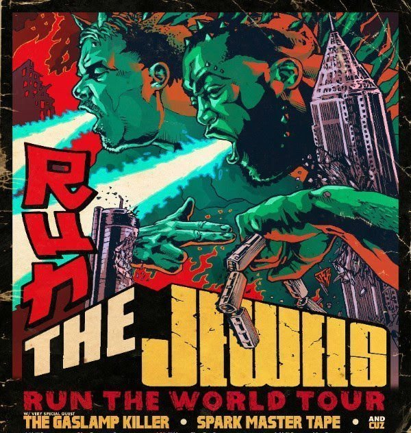 image for article Run The Jewels Plan 2017 Tour Dates with The Gaslamp Killer and Spark Master Tape: Ticket Presale Code Info