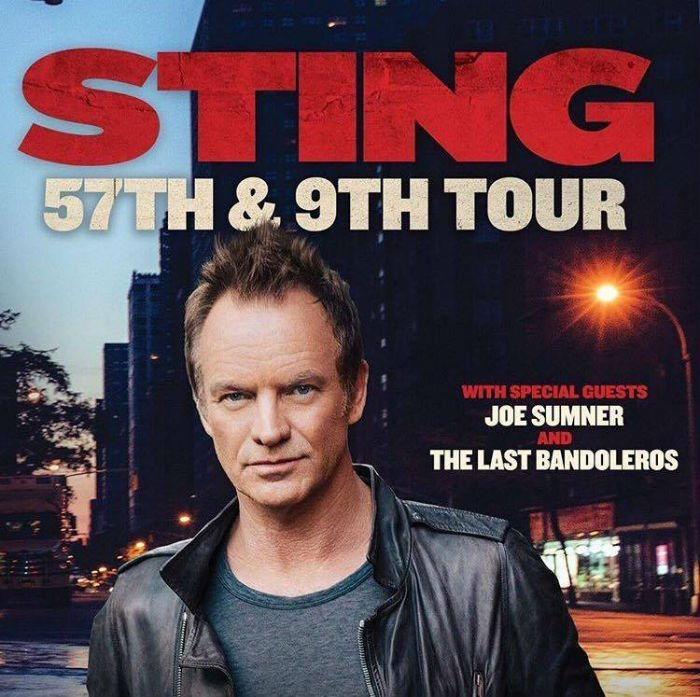 image for article Sting Plots World Tour Dates for 2016-2017: Ticket Presale Code Info