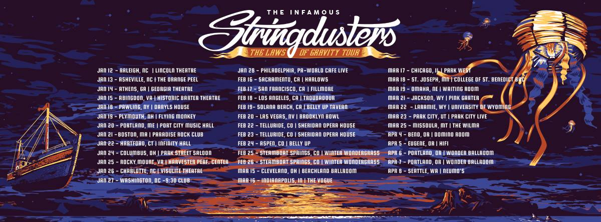 image for event The Infamous Stringdusters