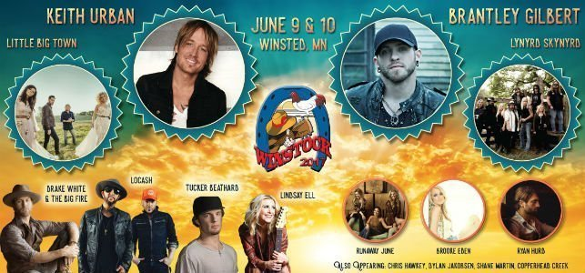 image for event Winstock Country Music Festival: Keith Urban, Little Big Town, Shane Martin, and More