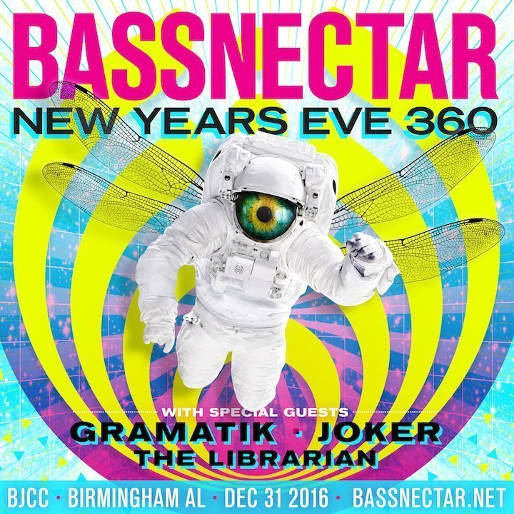 image for event Bassnectar, Gramatik, Joker and The Librarian