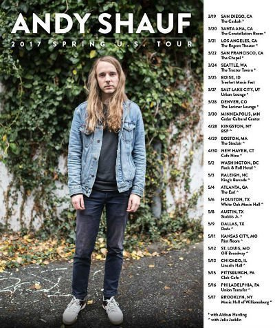 image for event Andy Shauf and Julia Jacklin
