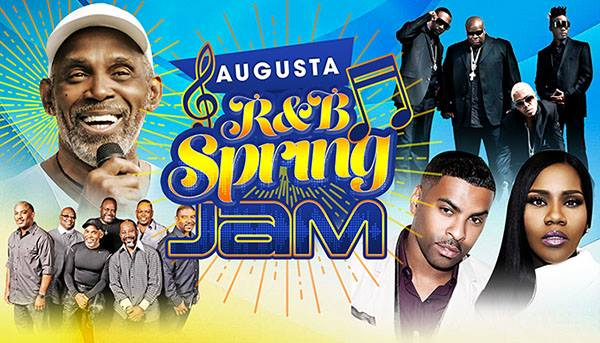 image for event Augusta R&B Spring Jam: Maze, Frankie Beverly, Ginuwine and more