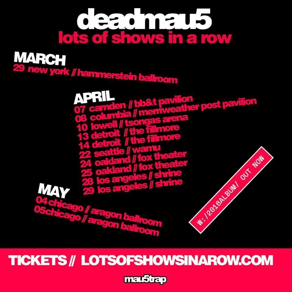 image for article Deadmau5 Plans 2017 Tour Dates: Ticket On-Sale and Presale Code Info