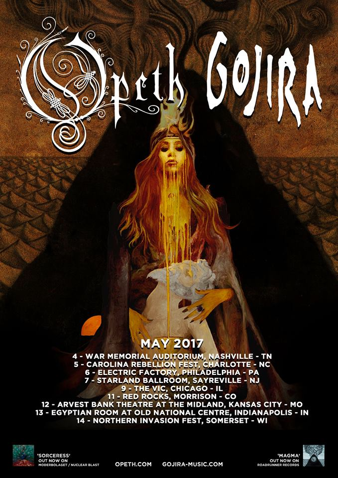 image for event Opeth and Gojira
