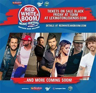image for event Red White & Boom Music Festival