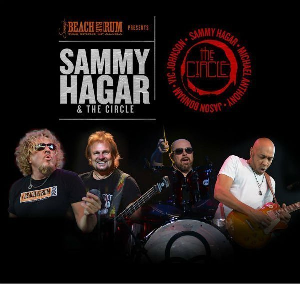 image for event Sammy Hagar and The Circle