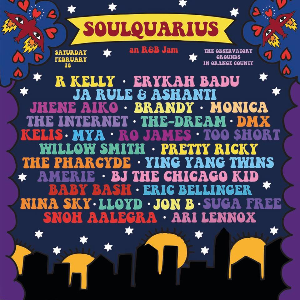 image for event Soulquarius in Santa Ana, CA on Feb 18, 2017