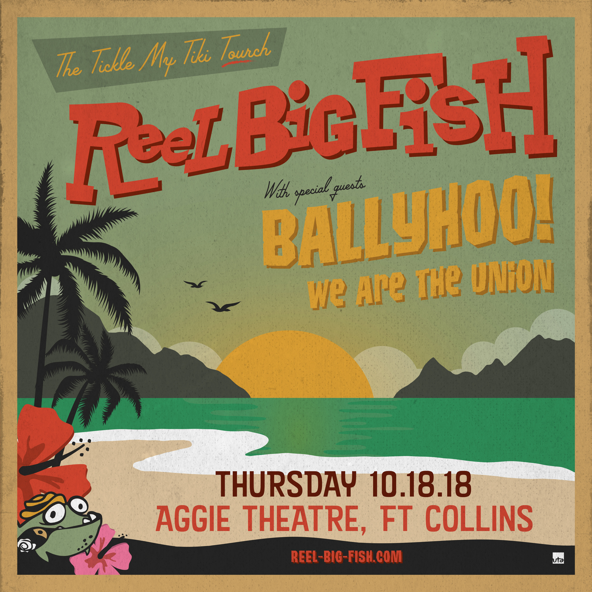image for event Reel Big Fish, We Are The Union, and Ballyhoo