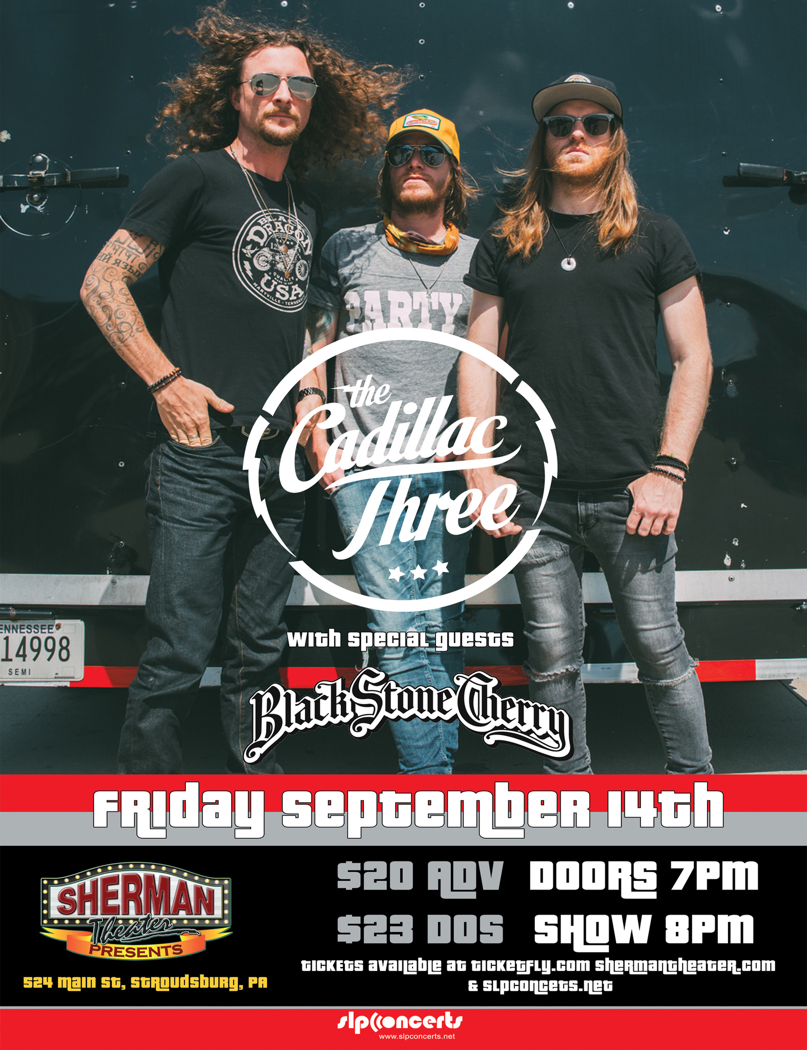 image for event The Cadillac Three and Black Stone Cherry