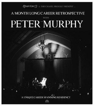 image for event Peter Murphy