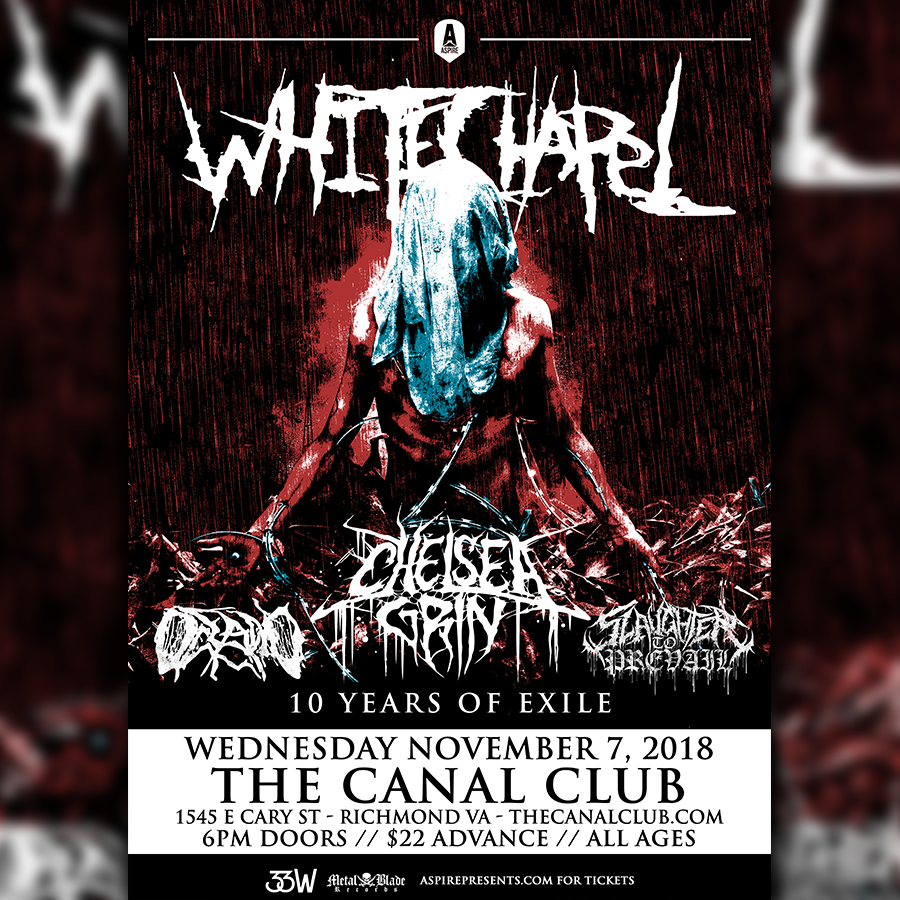 image for event Whitechapel, Slaughter to Prevail, Oceano, and Chelsea Grin