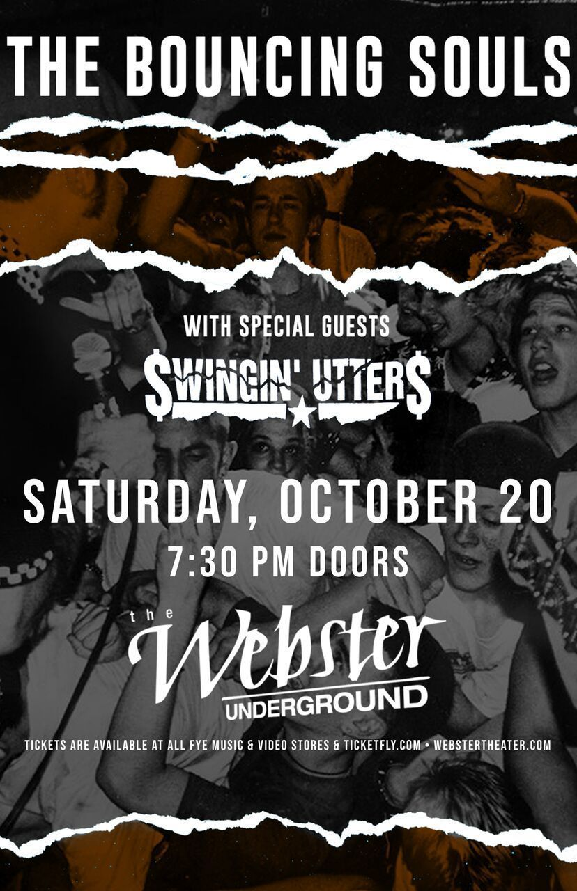 image for event The Bouncing Souls and Swingin Utters