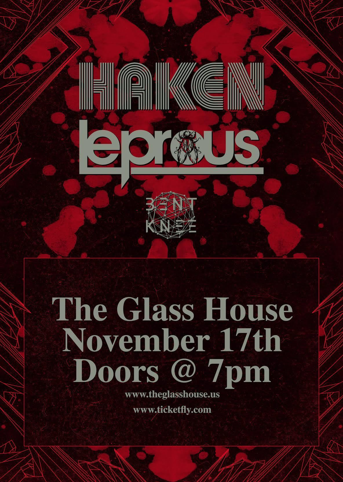 image for event Haken, Leprous, Watsky, and Bent Knee