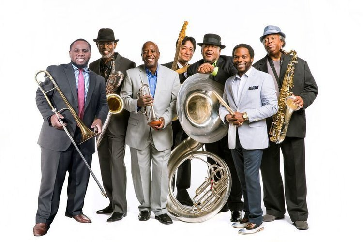 image for event Cha Wa and The Dirty Dozen Brass Band