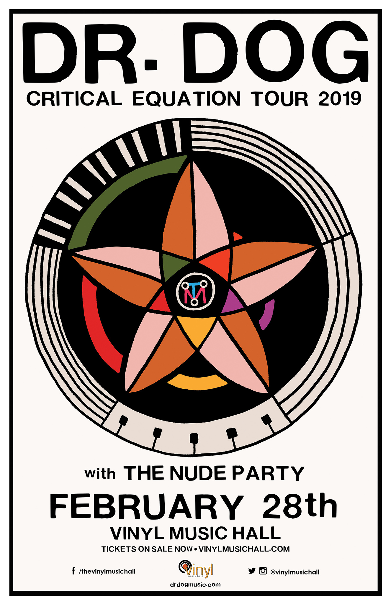 image for event Dr. Dog and The Nude Party