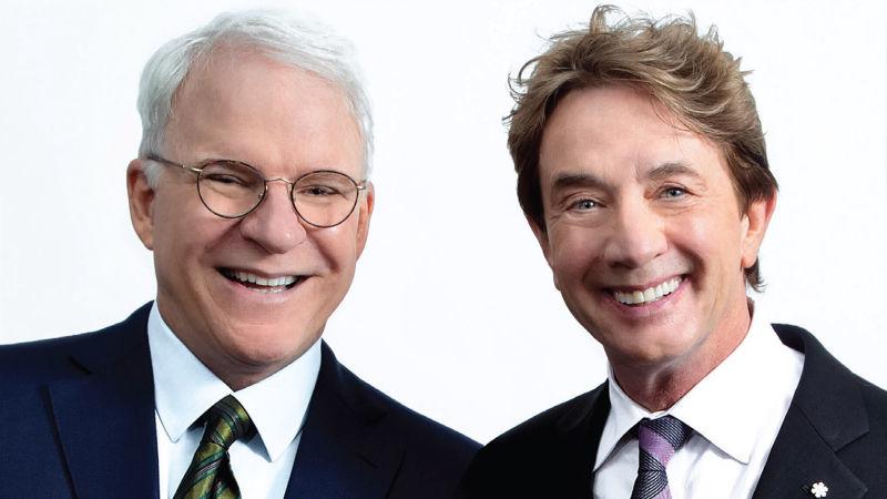 image for event Martin Short, Steve Martin, and The Steep Canyon Rangers