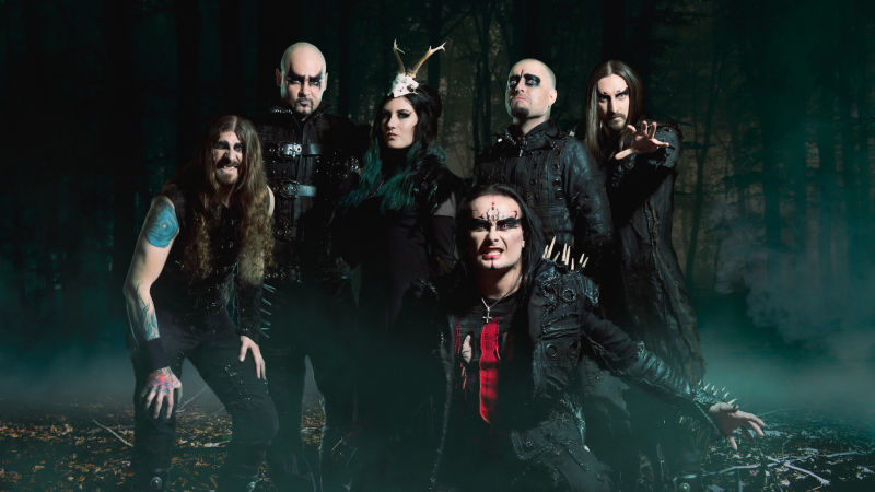 image for event Cradle of Filth and Wednesday 13