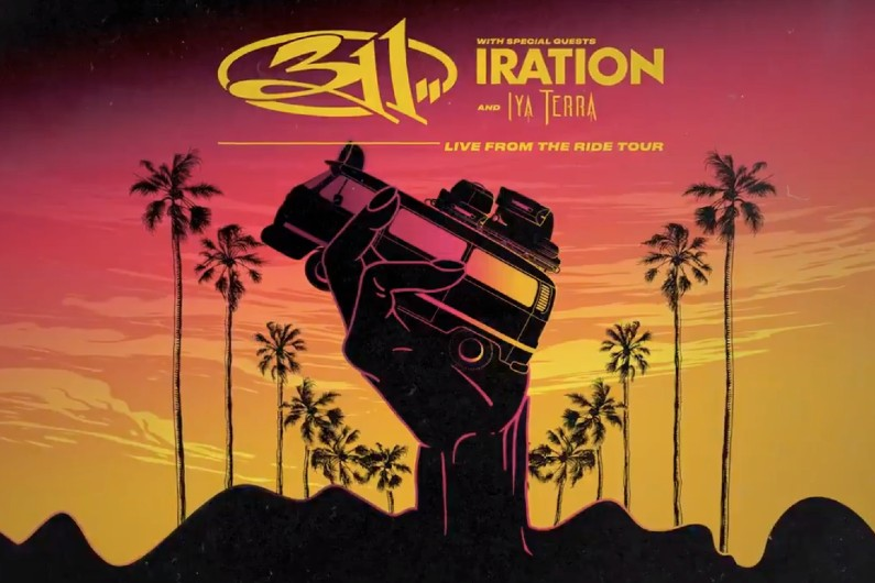 image for event 311, Iration, and Iya Terra