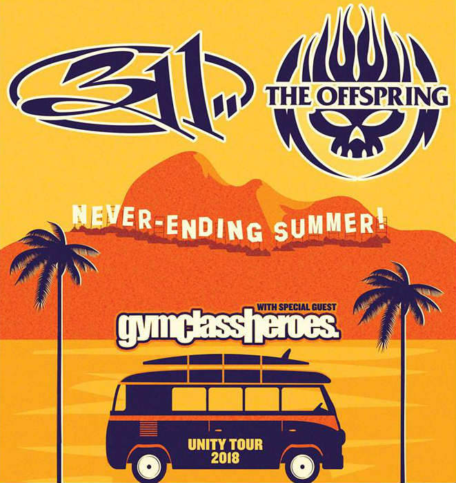 image for article 311 and The Offspring Plot 2018 Tour Dates: Ticket Presale Code & On-Sale Info