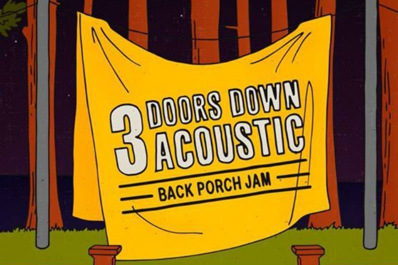 image for article 3 Doors Down Reveal Acoustic 'Back Porch Jam' 2018 Tour Dates: Ticket Presale Code & On-Sale Info