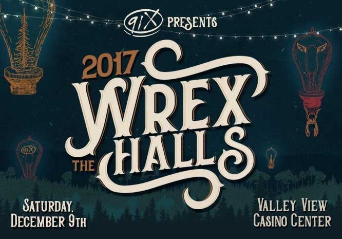 image for event 91X WREX the Halls
