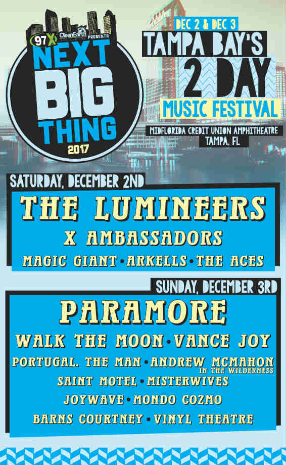 image for event 97X Next Big Thing