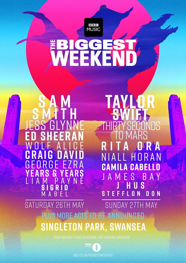 Bbc Musics Biggest Weekend At Singleton Park On  Ticket Presale Code Cheapest Tickets Best Seats Comparison Shopping Zumic