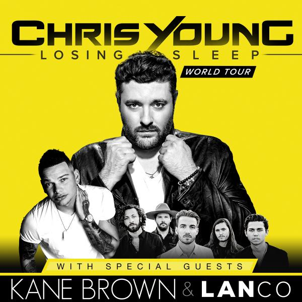 image for event Chris Young, Kane Brown, and LANCO