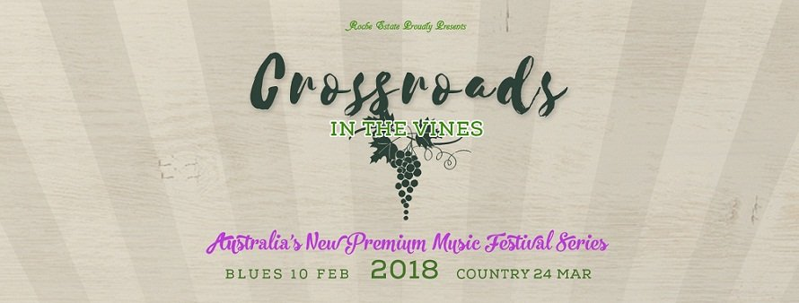image for event Crossroads: Blues In The Vines 2018