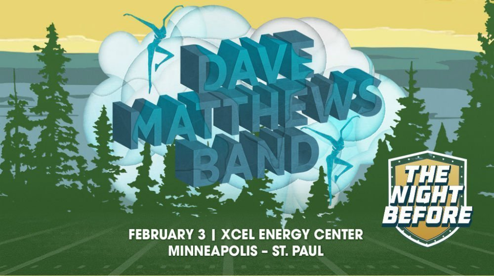 image for article Strong Concert Ticket Sales Drive 2018 Super Bowl Parties in Minnesota with Dave Matthews Band, Florida Georgia Line, and more TBA