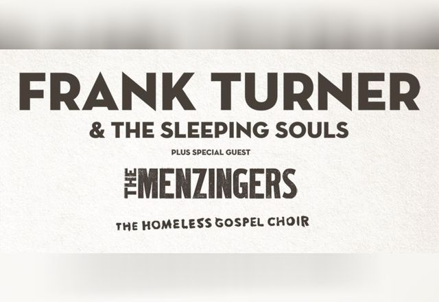 image for event Frank Turner & The Sleeping Souls, Homeless Gospel Choir, Lucero and The Menzingers