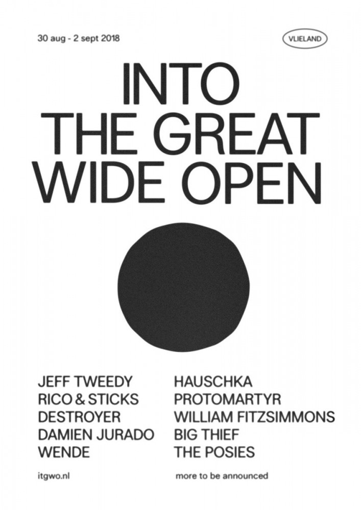 image for event Into the Great Wide Open Festival