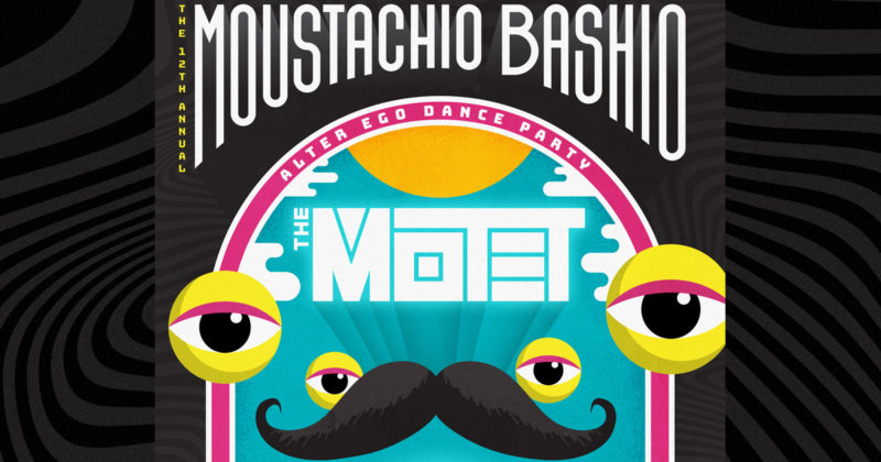 image for event Moustachio Bashio's 12th Annual Alter Ego Dance Party