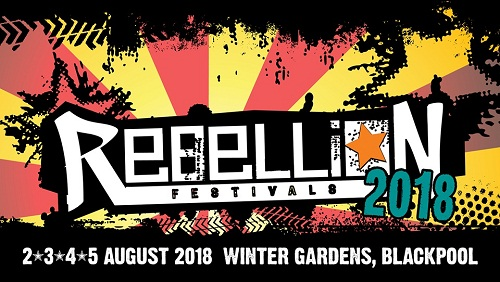 image for event Rebellion Festival 2018