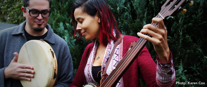 image for event Rhiannon Giddens and Francesco Turrisi