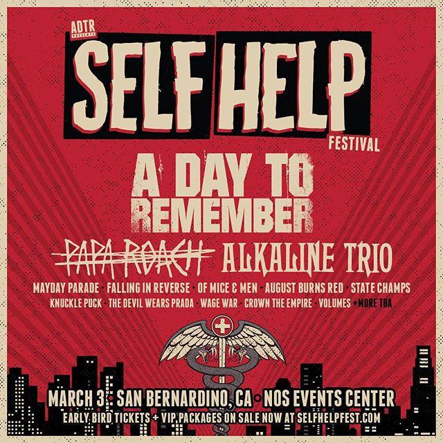 Punkvideosrock | Self Help Fest announces Pierce The Veil as 2015 ...