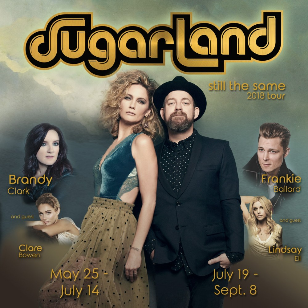 image for event Sugarland with Brandy Clark and Clare Bowen