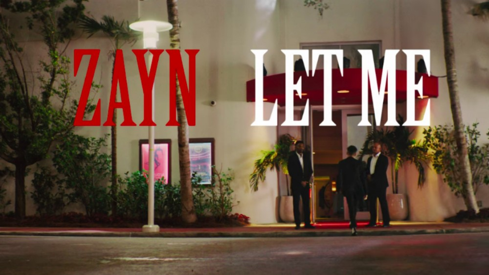 "image for article ""Let Me"" - ZAYN [YouTube Official Music Video]"