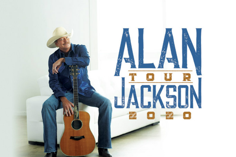 Alan Jackson Tour 2020.Alan Jackson Plans 2020 Tour Dates Ticket Presale On Sale