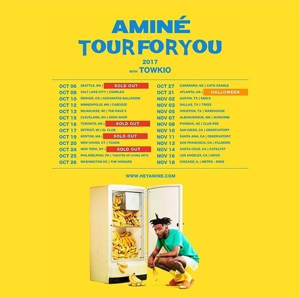 image for event Aminé, Pell, and A2