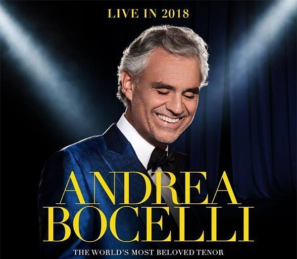 image for event Andrea Bocelli