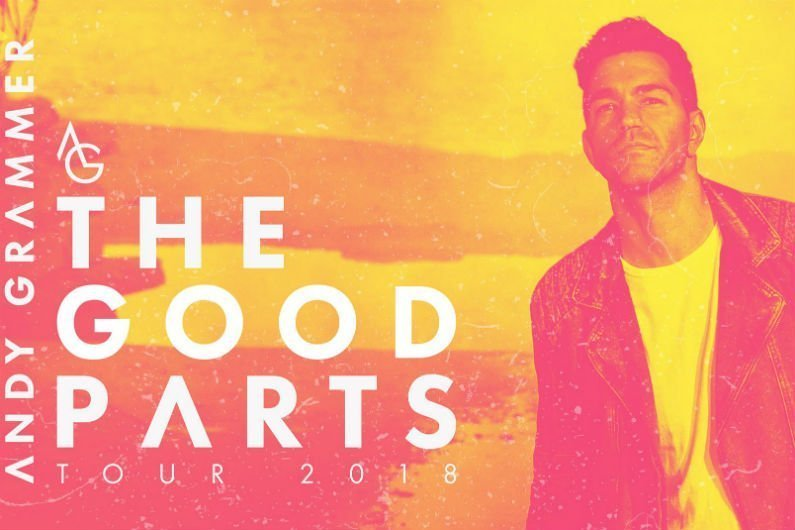image for article Andy Grammer Plots 2018 'The Good Parts Tour' Dates: Ticket Presale Code & On-Sale Info